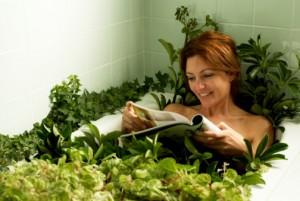 Возможности ванны с валерьянкой