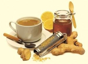 Имбирный чай - прекрасное средство для похудения